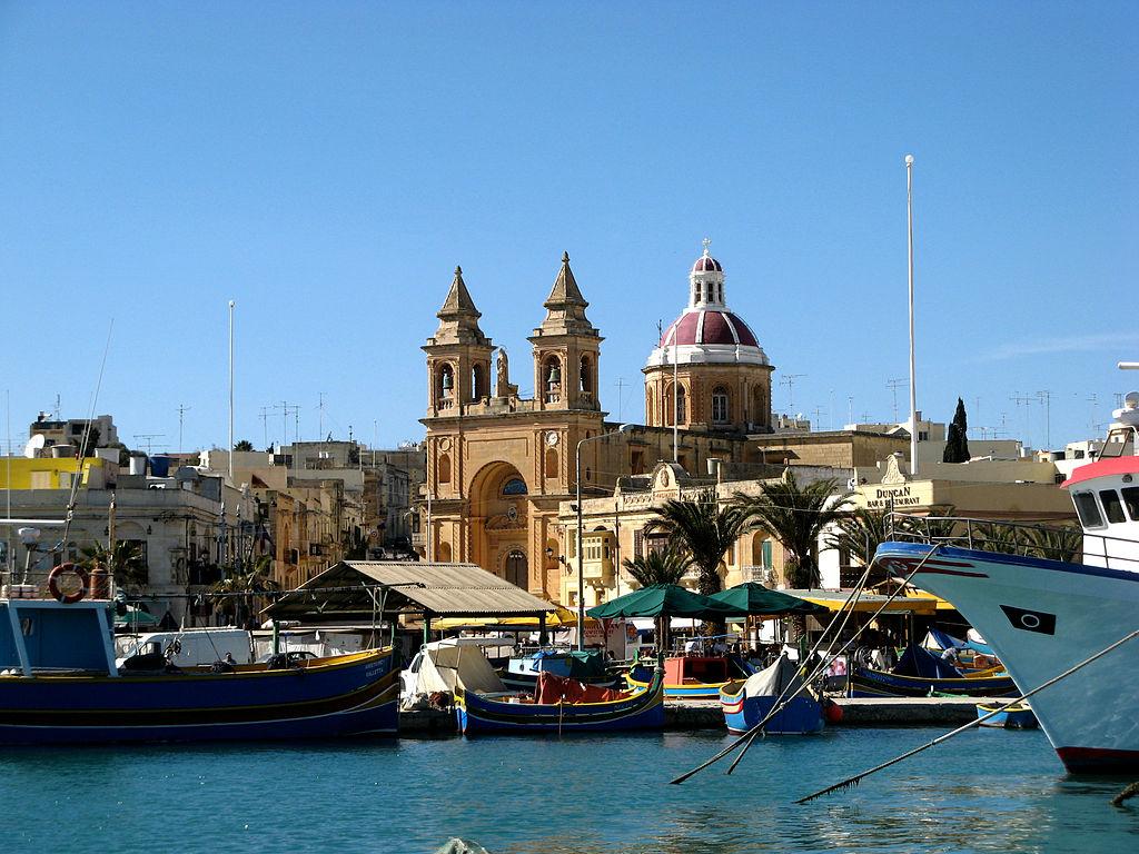 Обои marsaxlokk , malta. Города foto 19