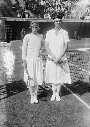 Eleanor Goss - Martha Bayard and Eleanor Goss (right)