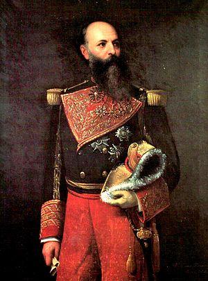 Antonio Guzmán Blanco - Portrait by Martín Tovar y Tovar