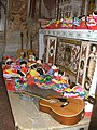Masques et instruments du Carnaval de Bagolino 2010.jpg