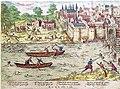 Massacre de Tours en juillet 1562, gravure d'Hoggenberg.jpg