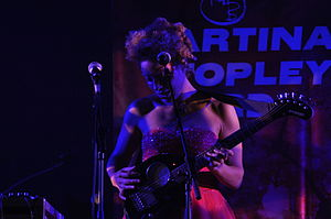 Martina Topley-Bird - Topley-Bird performing with Massive Attack, 2009