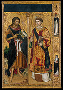 Master of Saint John and Saint Stephen - Saint John the Baptist and Saint Stephen - Google Art Project.jpg