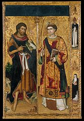 Saint John the Baptist and Saint Stephen