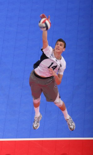 Penn State Nittany Lions men's volleyball - Matt Anderson (above) was the 2008 AVCA Co-National Player of the Year, EIVA Player of the Year, and the NCAA championship tournament most valuable player.
