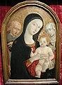 Matteo di giovanni, madonna col bambino tra i santi francesco e caterina da siena.JPG
