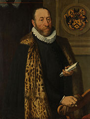 Portrait of Mattheus Augustijnsz Steyn, Councilor in the College of the Admiralty of the Northern Quarter in Dokkum