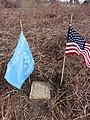 Matthew McClelland Sr., Family plot corner marker, Mt. Moriah Cemetery, Philadelphia, PA.jpg