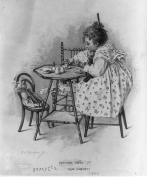 Maud Humphrey - Maternal cares by Humphrey c. 1897