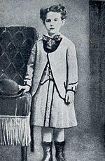 Guy de Maupassant à sept ans.