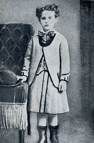 Guy de Maupassant - Guy de Maupassant 7 years old