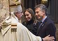 Mauricio Macri participó del Tedeum en la Catedral Metropolitana por el aniversario de la Revolución de Mayo (8855865892).jpg