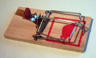 Build a better mousetrap, and the world will beat a path to your door - A mousetrap.