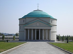 Rosa Vercellana - Her mausoleum in Turin.