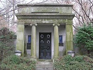 Max Reinhardt - The mausoleum of Max Reinhardt in Westchester Hills Cemetery
