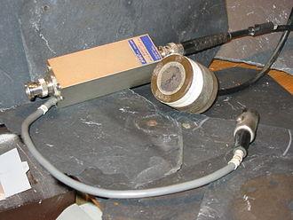 Lead zirconate titanate - PZT ultrasound transducer