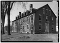May 1969 VIEW LOOKING SOUTH - Cheshire Mills Company Boarding House, Main Street, Harrisville, Cheshire County, NH HABS NH,3-HAR,4-2.tif