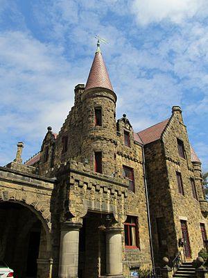 Maybrook Mansion - The tower at Maybrook mansion, Wynnewood, Pennsylvania