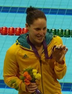 Alicia Coutts Australian swimmer