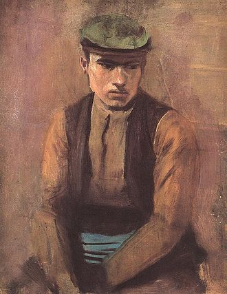 Day labor - Day Labourer (painting by László Mednyánszky)