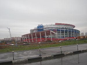 2007 IIHF World Championship - Image: Megasport 03112012 01