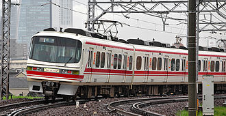 Meitetsu 1380 series - A 1030/1230 series train (set 1131) in April 2008