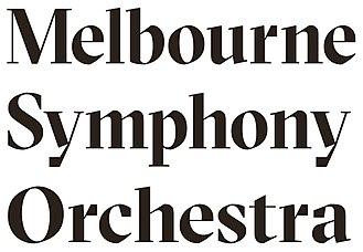 Melbourne Symphony Orchestra - Image: Melbourne Symphony Orchestra logo