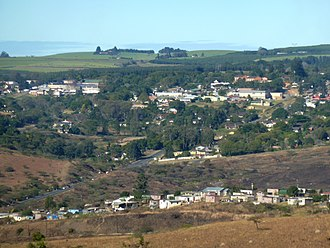 Melmoth, KwaZulu-Natal - View from the north