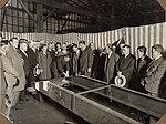 """Men inspecting the frame of the car """"F.H. Stewart Enterprise"""", 1926 - 1936 (4580010767).jpg"""
