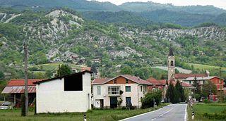 Merana Comune in Piedmont, Italy
