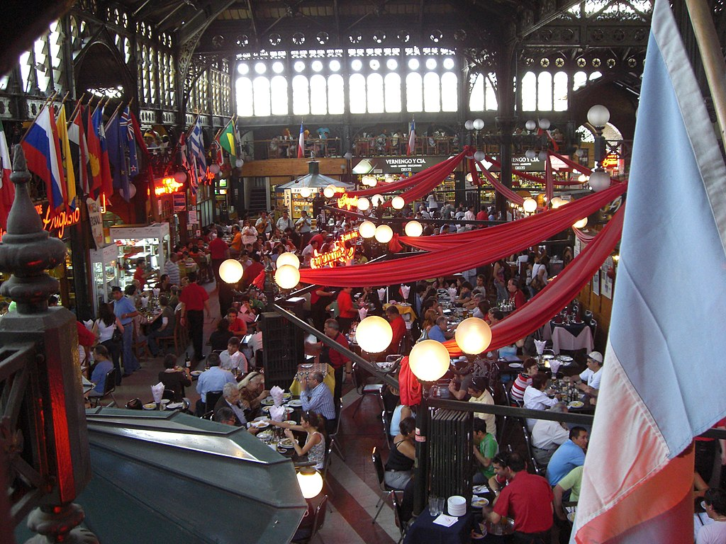 Mercado Central, Santiago de Chile, Chile1