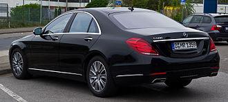 Mercedes-Benz S-Class (W222) - Short wheelbase