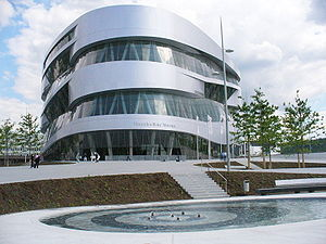 300px Mercedes benz museum stuttgart see 2006 Mercedes Benz Factory in Germany Part of Oklahoma Instructors Tour