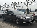 Mercedes Classe S Swiss diplomatic plate (UAE) (39086198220).jpg