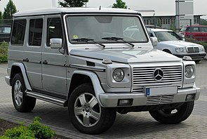 Mercedes G 400 CDI Limited Edition (W463) front 20100612.jpg