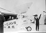 Mercy Flight- Wop May and Vic Horner off to Fort Vermilion with diptheria antitoxin. (14088359161).jpg