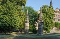 Merseburg, Oberaltenburg, Schloßgarten, Obelisken, 001.jpg