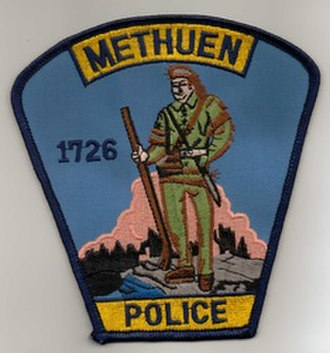Methuen Police Department - Image: Methuen PD Patch