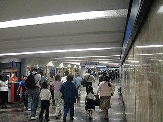 Metro Zócalo - Image: Metro Zocalo Hall