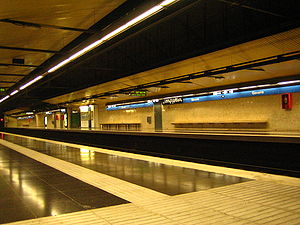 Barcelona Metro - Gavarra station (L5)