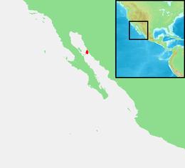 Mexiko - ostrov Tiburón. PNG