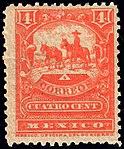 Mexico 1895 4c perf 12 Sc246 unused.jpg