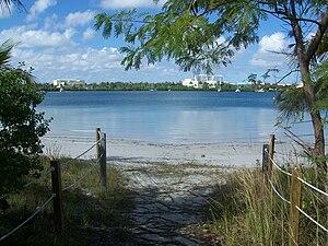 Oleta River State Park - Image: Miami FL Oleta River SP beach 01