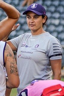 Michelle Cowan Australian rules football coach