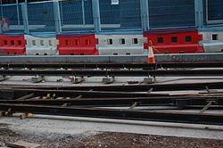 Midland Metro - track laying - Upper Bull Street - Birmingham 12.JPG