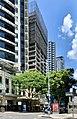 Midtown Centre at 155 Charlotte Street, Brisbane under construction in February 2020, 01.jpg