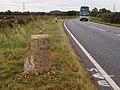 Milestone on the Elton road - geograph.org.uk - 3150068.jpg