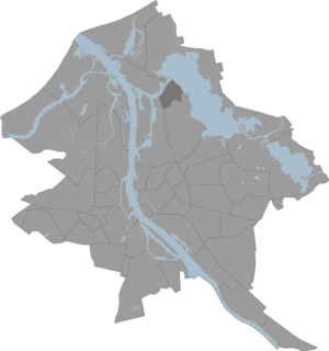 Mīlgrāvis - Image: Milgravis karte
