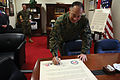 Military Saves Campaign proclamation signed 120201-M-HG547-620.jpg