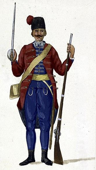 Schiavone - A Schiavone of the Venetian military